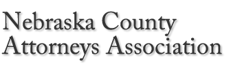 Logo Nebraska County Attorneys Association